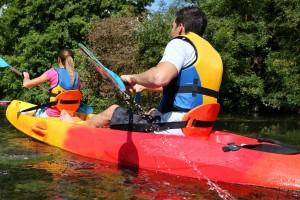 Kanu, Wasser, Team, Freizeit