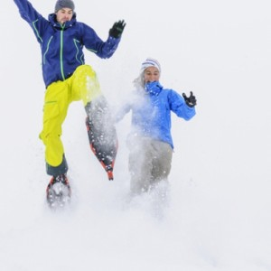Schneeschuhe, Schnee, Winter, Team