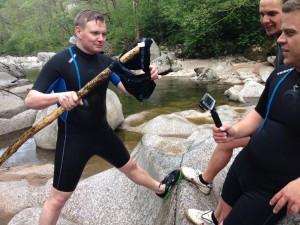 Naturerlebnis, Canyoningtour, Forbach, Freizeit, Wasser