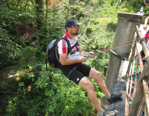 Schwarzwald, Canyonig, Wasser, Team, Steine, Freizeit