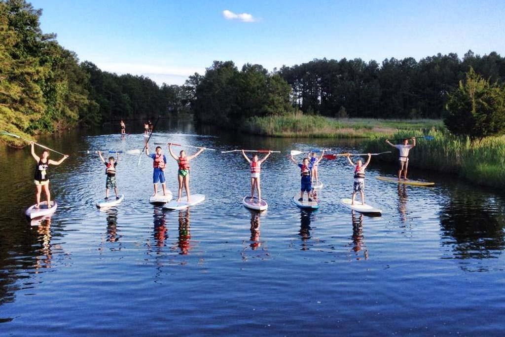SUP, Team, Schwarzwald, Wasser, Freizeit