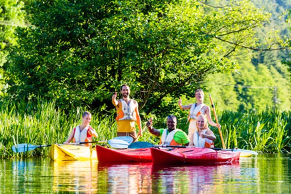 Kanu, Naturerlebnis, Wasser, Team