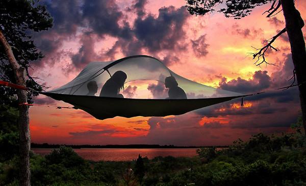 Zelten, Übernachtung, Freizeit