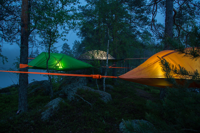 Team, Zelten, Übernachtung