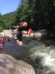 Schwarzwald, Abenteuer, Wasser, Team