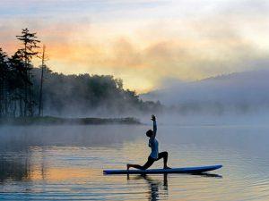 SUP, Yoga, Wasser, Freizeit