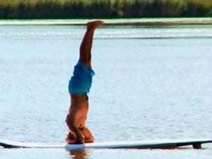 Yoga, SUP, Wasser, Freizeit